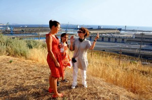 Karole Rocher, Sofia Lassoued y Ariane Ascaride